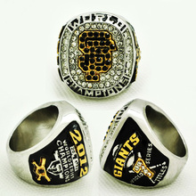 2015 Fashion Silver Ring 2012 San Francisco Giants World Series Championship Ring Custom Big Size 11, Man's Wedding Rings