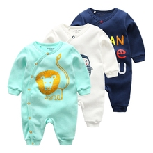 Baby newborn clothes cotton infant romper spring