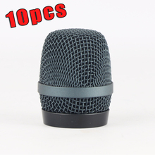 10PCS High Quality Export Version Dent-Resistant Ball Head Mesh Microphone Grille for Sennheiser e935 e945 Accessories