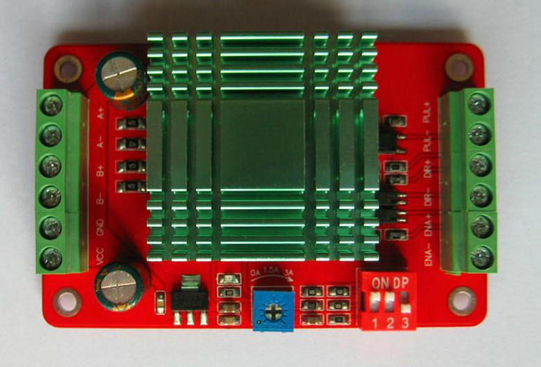 THB7128 / step motor drive/control panel / / 128/3 a current subdivision control module<br>