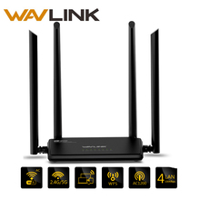 Wavlink AC1200 High Power Wireless Wifi Dual Band Router 2.4GHz Wifi Router Repeater 5ghz with 4*5dBi High Gain External Antenna(China)