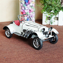 Handicraft Three-color Vehicle Models Classic Car Furnishings Articles Children Desktop Home Decoration Creative Collection Gift