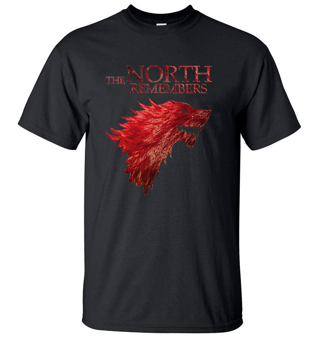 The North Remembers Game Of Thrones House Stark Men