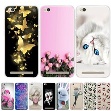 "Xiaomi Redmi 5A 5.0"" Case Cover Soft Silicone Cases Xiomi Xiaomi Redmi 5 5A A5 Phone Case Cover Redmi 5A Redmi5A Funda"