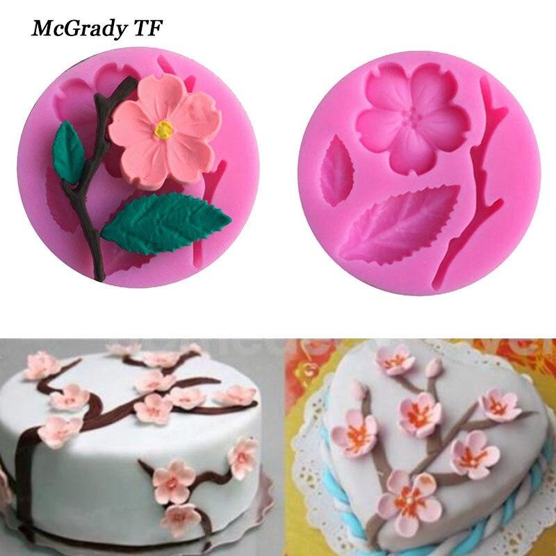 Silicone Flower Daisy Maker Sugar Chocolate Mold Mould Cake Fondant Baking Art