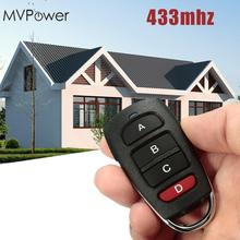 MVpower Portable 433mhz Remote Control Presentation Universal Car Garage Door Opener Keychain With Battery(China)