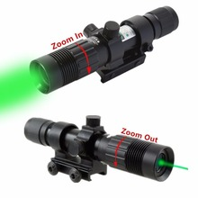 Tactical 5mw Red Laser Sight Rifle Scope Riflescope Designator 20mm Mount Tail(China)