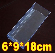 30PCS/LOT  PVC Transparent Plastic Gift Toys Packing Boxes Towel Display Storage Boxes