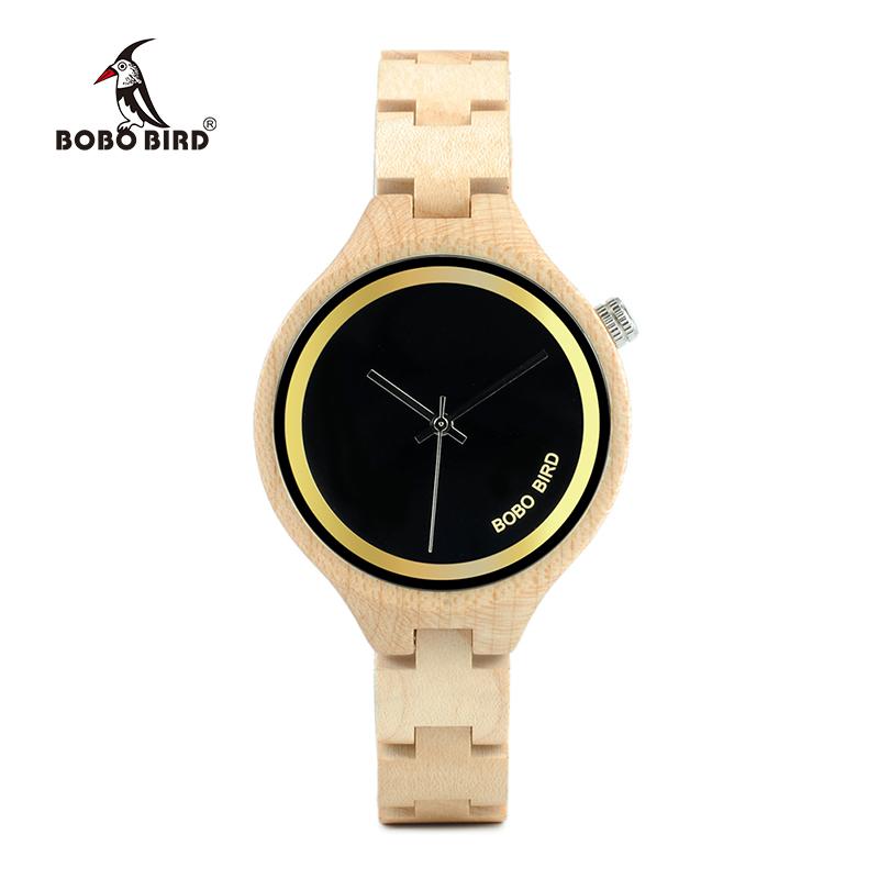 ساعة يد نسائية BOBO BIRD الخشبية الاصلية 2