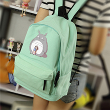 Anime Tonari no Totoro Cosplay Cartoon campus male and female students backpack casual wild cute backpack