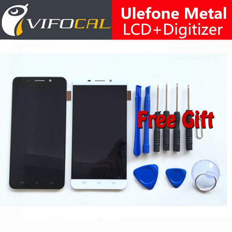 Ulefone Metal LCD Display + Touch Screen + Tools 100% Original Digitizer Assembly Replacement Accessories For Cell Phone<br><br>Aliexpress