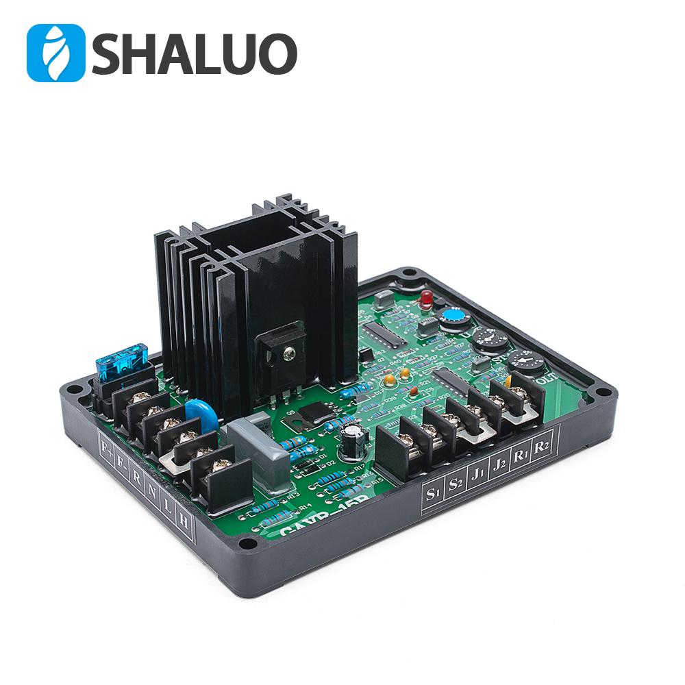 GAVR-15B (15A) AVR Brushless Generator Automatic Voltage Regulator Regulator Plate Excitation Regulator<br>