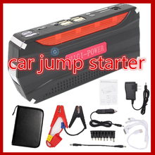 Car power bank Car Emergency jump starter with pump auto vehicle engine booster start rechargeable battery power supply charger(China)