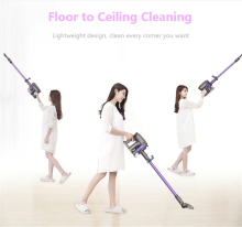 Dibea 2-in-1 Cordless Handheld Vacuum Cleaner Upright Stick Machine with Mop for Carpet Hardwood Floor Cyclonic Filtration F6(China)