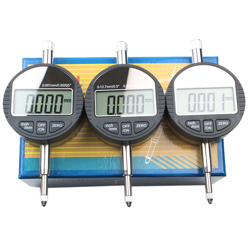 High-precision stable and durable digital dial indicator accuracy 0.001 indicating table 0-12.7mm electronic MetricInch Tester<br>