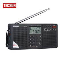Tecsun PL-398MP Radio FM & MP3 Player Full Band Digital Tuning DSP  Stereo/MW/SW/LW Receiver SD Card Dual Speaker  MP3 Playback