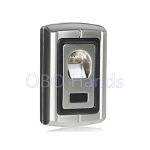 Silver Metal Fingerprint Standalone Access Control SystemAnd Time Attendance  for school gate hotel apartent office