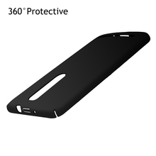 Zenfone 2 ZE551ML 360 Back Cover Case For ASUS Zenfone 2 ZE551ML 5.5'' Plastic Case Phone Back Protect Case(China)