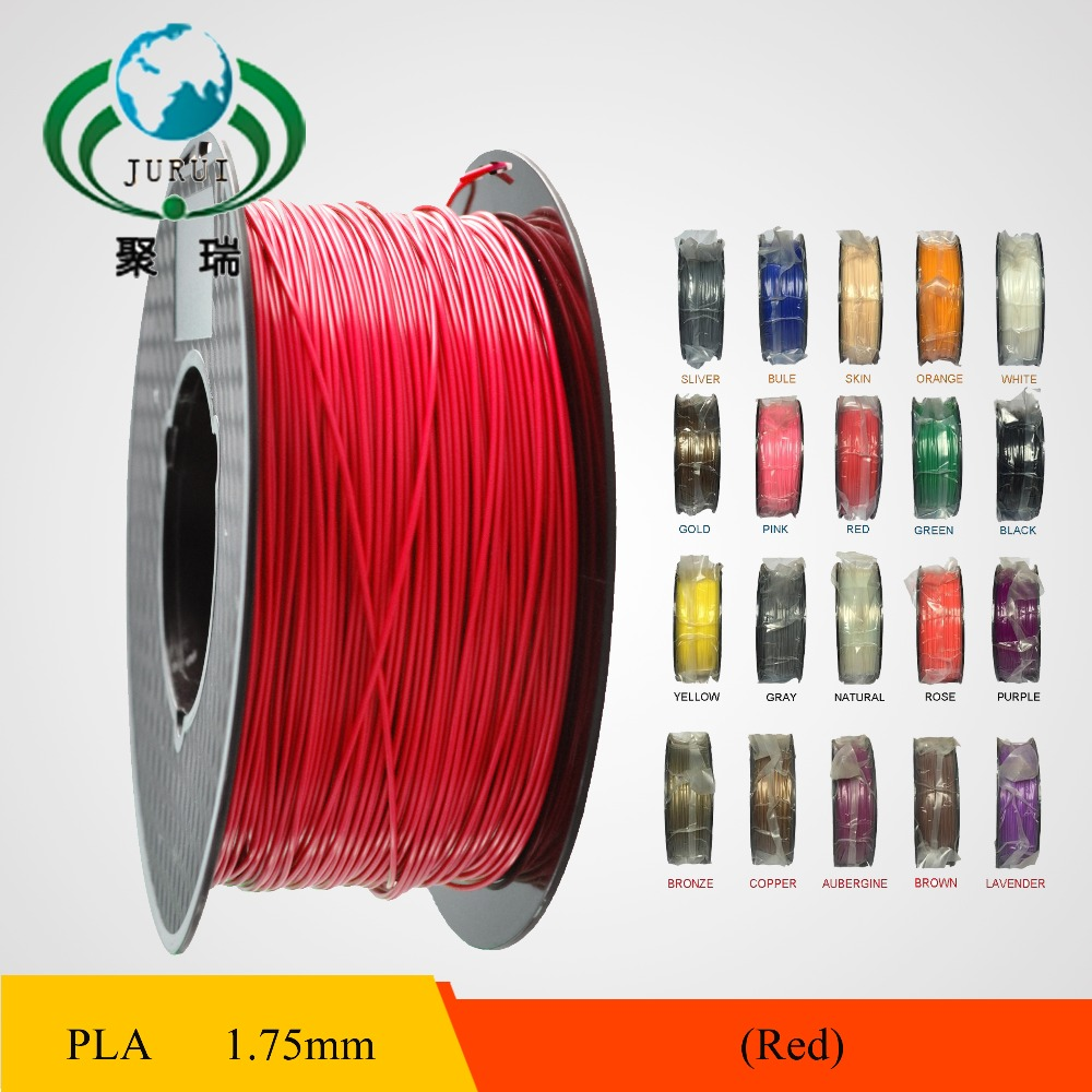 1KG/Spool 3d Printer filament supplies PLA 1.75mm 3mm Plastic/Rubber Consumables For industrial medical educationMaterial<br><br>Aliexpress