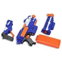 OCDAY New  Kids Toy Gun Soft Bullet Guns for nerf Electric Shooting Weapon Gun Submachine Children Funny Outdoors Toys Hot Sale