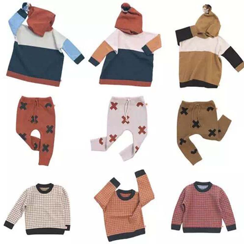 BBK 2017 Tiny cottons children sweater girl Plaid stripes Hedging knit sweater boys kids Pull Garcon Cardigan Sweater coat<br><br>Aliexpress