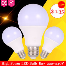 Led Light Bulb E27 12W 15W 220V Lamps 7W 9W Energy Saving Lamp Home Lighting Lamparas Smd5730 3W 5W - CHENBEN Store store
