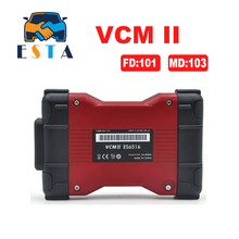 2017 Latest version V101 VCM II IDS Diagnosis tool green single Board For Fd / Mazda VCM 2 VCM2 OBD2 Scanner Free shipping