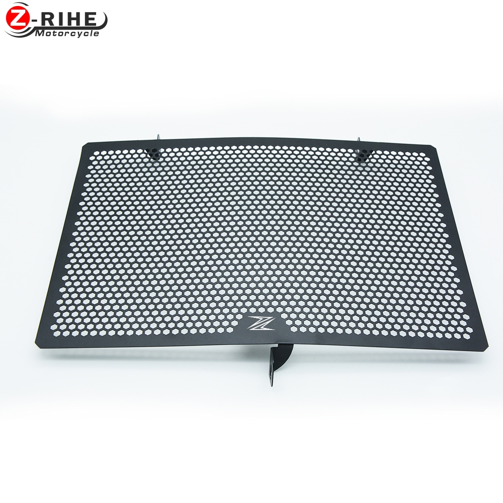 2017 New Stainless Steel Motorcycle Radiator Grille Guard Cover Protector For Kawasaki Z 750 Z 800 ZR800 Z1000 Z1000SX<br>