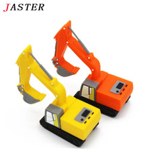 JASTER usb stick excavator USB flash drive cars Pen drive 4gb 8gb 16gb 32gb flash card truck USB memory stick for children