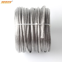 Free Shipping 5MM 300M Spectra Rope 5500LB UHMWPE Braided Boat Towing Rope WINCH LINE(China)