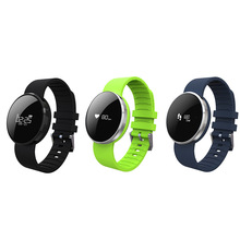JRGK UW1 Bluetooth 4.0 Smart Bracelet Mirror Screen Band Heart Rate Monitor Waterproof Call Reminder Smartband for Android iOS