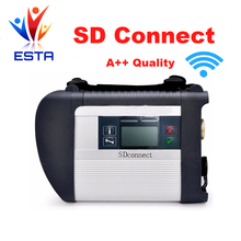 High Quality with wifi funcation MB STAR C4 SD CONNECT tool support 21 languages Only C4 main unit