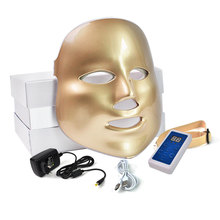 Beauty Star LED Facial Mask 3/7 Color Photon Electric LED Mask Anti Wrinkle Acne Removal Face Skin Rejuvenation Facial Spa Salon(China)