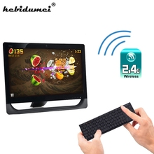 kebidumei Wireless Bluetooth Keyboard with RF Numeric Keypad Built-in Touchpad USB Receiver For Windows/ iOS/ Android / Linux