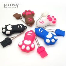 New Easy Learning USB 2.0 Cartoon Claw USB Flash Drives Cat Paw 4GB 8GB 16GB 32GB Fist Pen Drive Pendrives USB Disk Memory Stick(China)