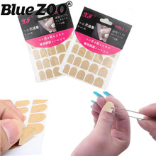 3 Sheets Double Side Adhesive Tapes Nail Stickers Fingernail Sticky Tape Glue False Nail Tips Convenient Manicure Tools