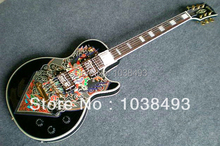 Manufacturers make the best electric guitar LP China feng shui transfer printing can be customized EMS free shipping