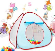 Sea ball pool children tent indoor folding ball pool ball wave ball baby toy tent color fence game house