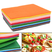 41pcs 1mm Thickness Felt Sheets Colorful Rainbow DIY Craft Polyester Wool Blend Fabric Kit For DIY Sewing Craft(China)