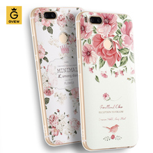 Gview High Quality 3D Relief Print Soft TPU Back Cover Case For xiaomi Mi A1 / mi 5x 5.5 inch Phone Bag Luxury Fundas For Mi 5X(China)
