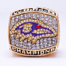 2009 American football League Baltimore Ravens Super Bowl sale replica championship ring Fast shipping STR0-167