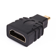 High Quality Micro HDMI Male to HDMI Female Plug Adapter Gold-Plated Connector Adapter Convertor for HDTV TV BOX
