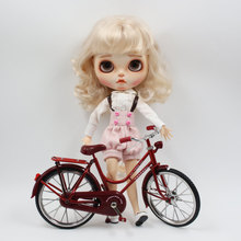 Red bike it suitable  for 1/6 blyth icy dolls azone joint doll toys special gift
