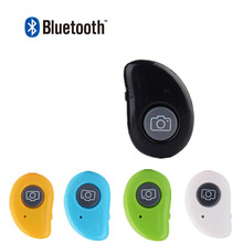 4 Colors Universal Mini Smart Bluetooth Remote Shutter Wireless Camera Control Self-timer Shutter For Android For IOS Smartphone(China)