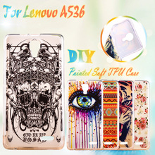 AKABEILA Painting TPU Phone Cover Cases For Lenovo A536 A358T A 536 A328T A328 Silicon Cell Phone Case Case TPU Cover