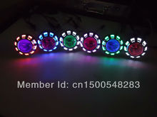 HOT SALES,New Arrival 12G Motorbike 35w 2 inch Hid Bi xenon Projector wiht  CCFL Angel Eye + Devil Eyes