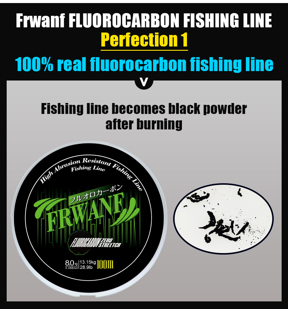 Monofilament Fishing Line Fluorocarbon (5)