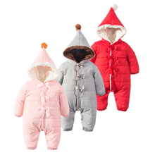 Baby Winter Snowsuit Newborn Baby Boy Outerwear Baby Girl Winter Infant Snow Overalls Toddler Snow Wear Baby Clothes