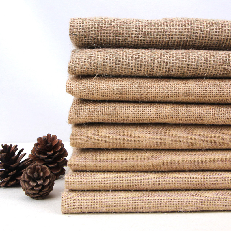 toile de jute tissu promotion achetez des toile de jute tissu promotionnels sur. Black Bedroom Furniture Sets. Home Design Ideas
