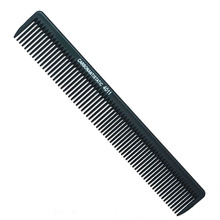 Black Professional Carbon Barbering Comb Fine Cutting Comb Heat Resistant Unbreakable Styling Hair Carbon Comb L4011